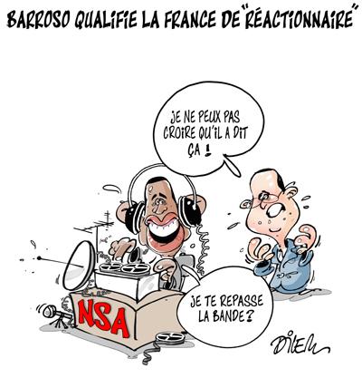 Accord transatlantique Hollande-reactionnaire