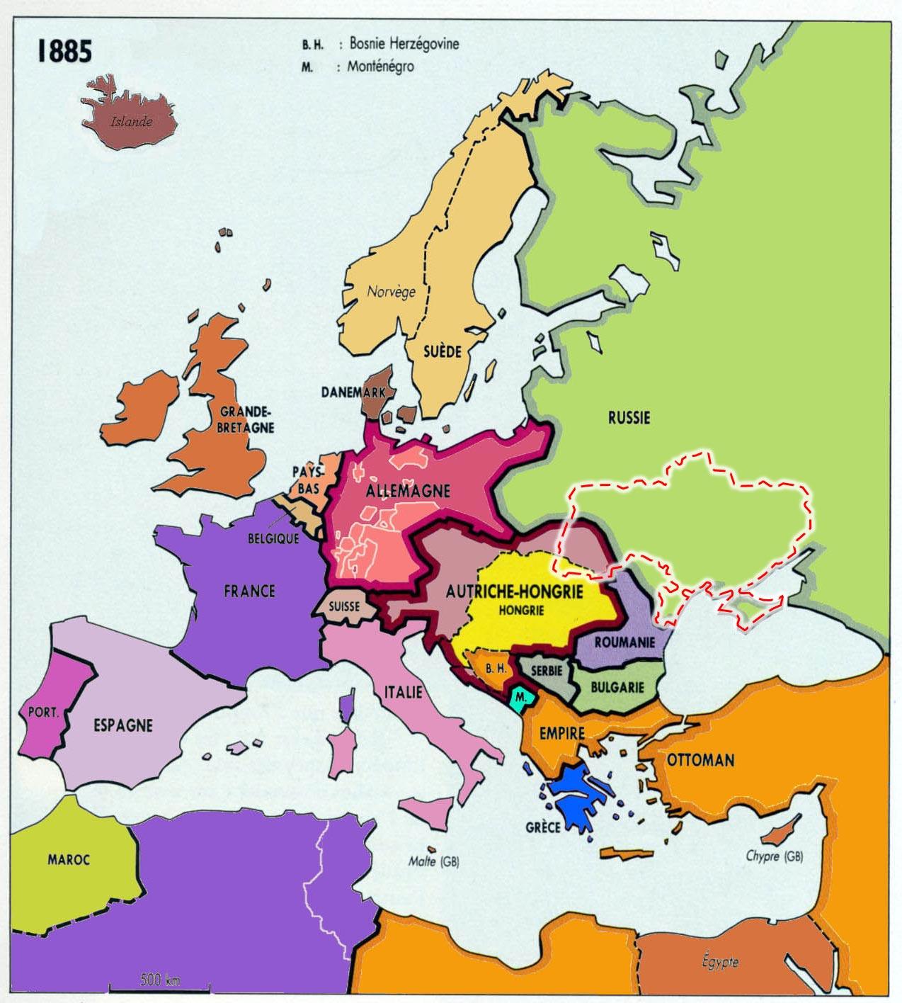 U1 2 comprendre l ukraine l histoire du pays 2 2 - La carte de l empire ottoman ...