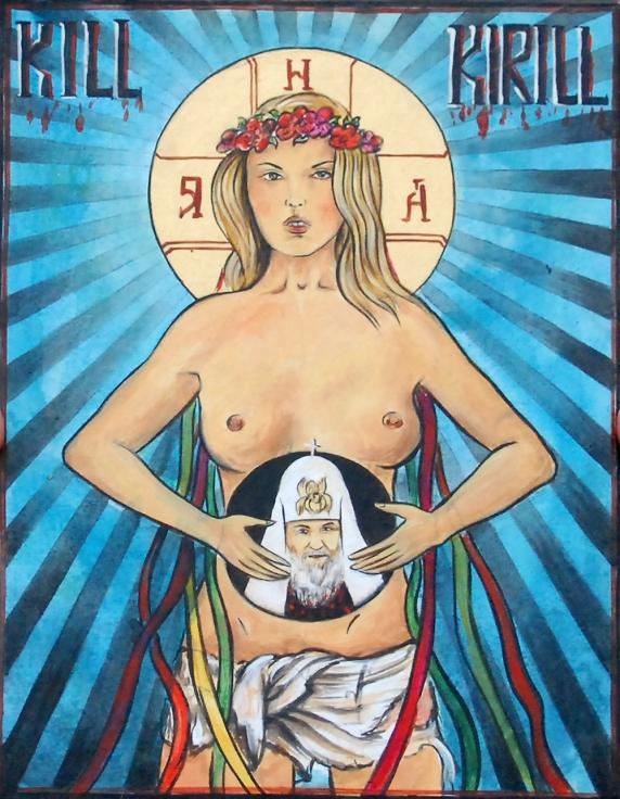 "Caroline Fourest : ""Les Femen ne sont pas nazies !"" Bon, enquêtons alors… Kill-kirill-4"