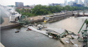 Photo de la chute du pont de Minneapolis en 2007.