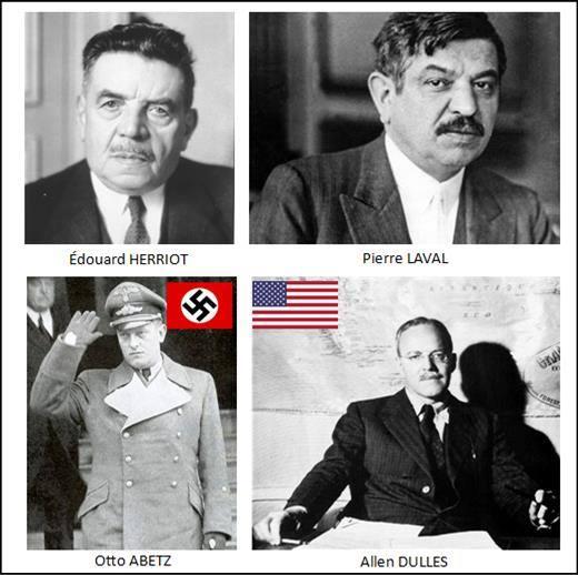 CIA Allen Dulles et lambassadeur dHitler à Paris Otto Abetz Lhistoire vraie : il y a 50 ans, le 6 juin 1964, Charles de Gaulle refusait de commémorer «le débarquement des anglo saxons»