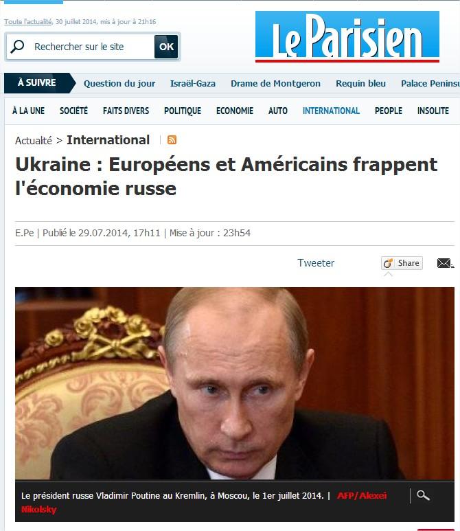 """La guerre (économique) va commencer avec la Russie. Moscou : """"Nous avons honte pour l'Union européenne"""" Frappes"""