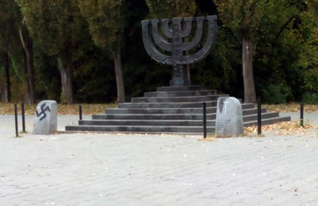 Monument aux victimes de Babi Yar en septembre 2014