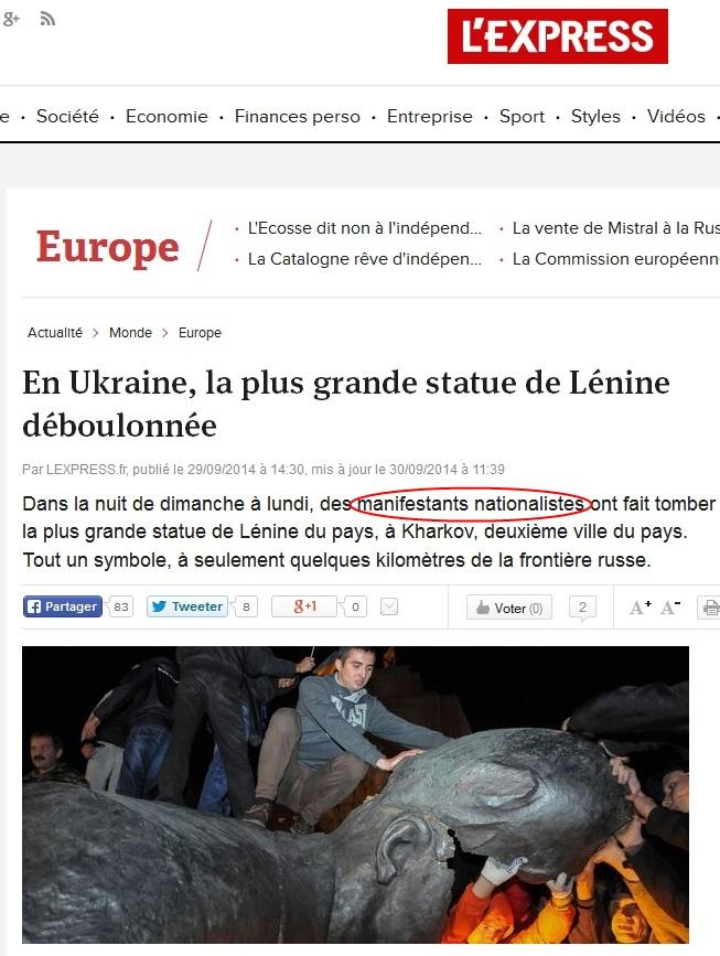 Affrontements en Ukraine : Ce qui est caché par les médias et les partis politiques pro-européens - Page 15 Express
