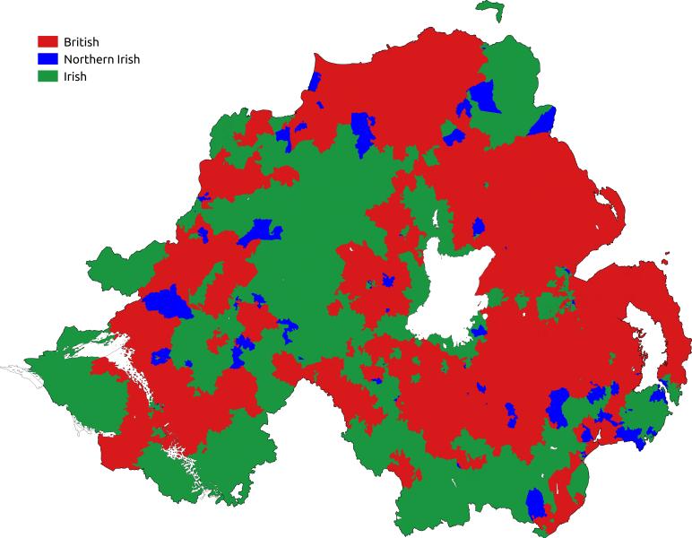 langues Irlande du Nord