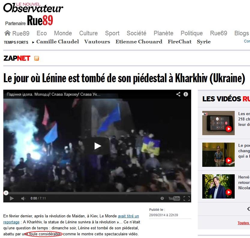 Affrontements en Ukraine : Ce qui est caché par les médias et les partis politiques pro-européens - Page 15 Rue89