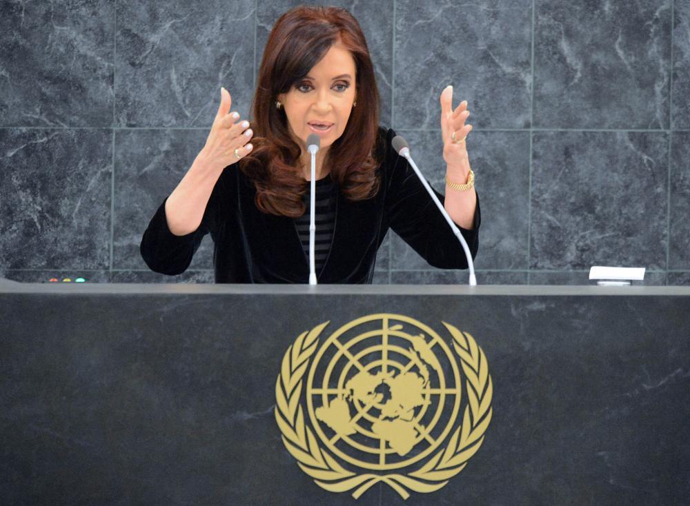 Discours De La Presidente Argentine A L Onu Il Y A Aussi Des