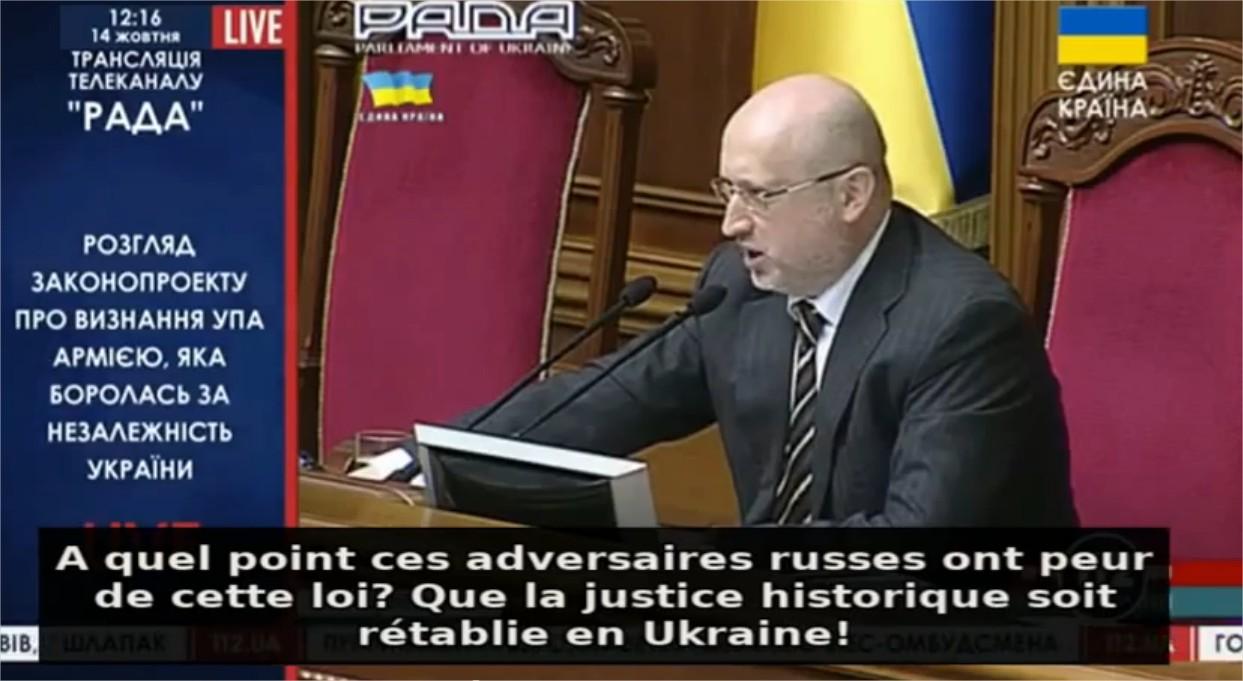 Maïdan 2.0 ? Ca se passe comme ça au parlement à Kiev…