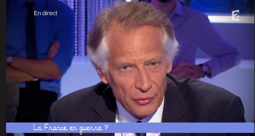 Ce Soir ou Jamais – 26 septembre 2014 - échanges D. De Villepin – H. Védrine sur l'intervention militaire en Irak/Syrie