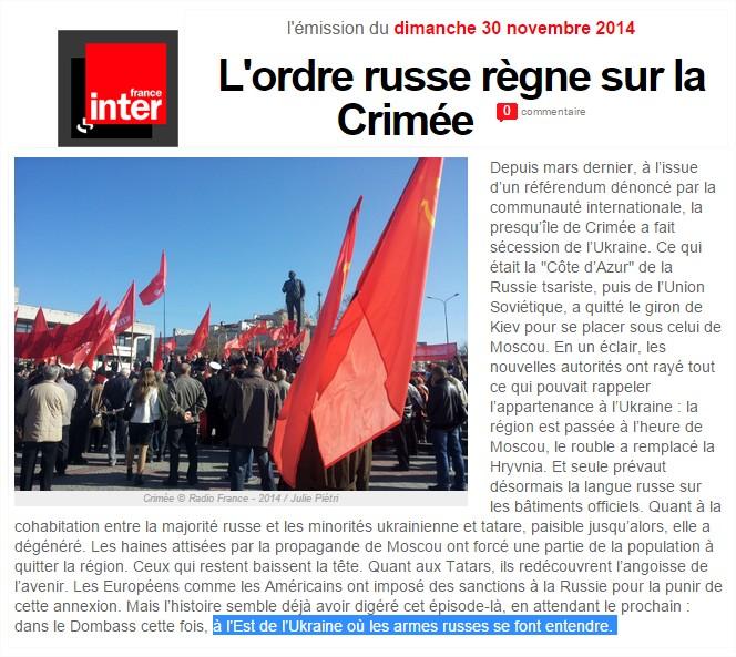 Sur Inter Guerre Propagande Crimée France De La qSRBIxZw