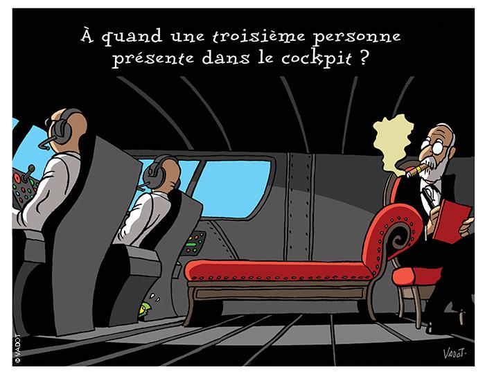 Delamarche, Sapir, Béchade, dernières infos économie UE + caricatures actus 082_Psy