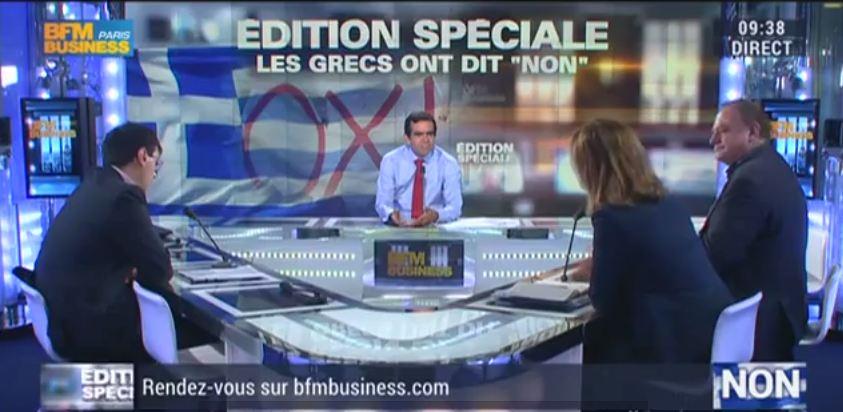 [Média] BFM Business, Les Experts –  6 juillet (Edition spéciale Grèce)