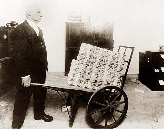 inflation allemagne 1923