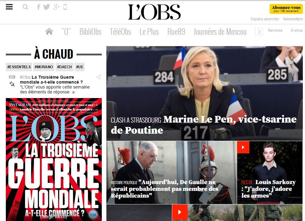 [Psychiatrie 3] Marine Le Pen, vice-tsarine de Poutine par Vincent Jauvert