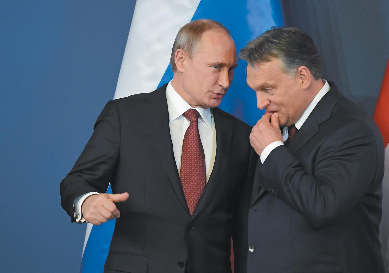 George Soros et Vladimir Poutine