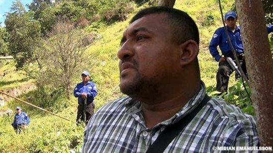 Douglas Bustillo ex lieutenant de l'Armée à présent chef de l'entreprise de sécurité au service du Consortium Desa.