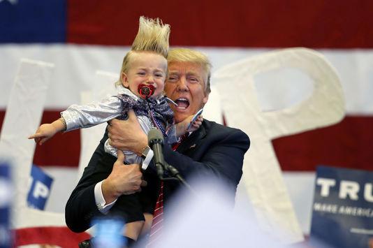 « Donal Trump, Marine Le Pen ou Geert Wilders ne représentent pas seulement une menace pour la paix et la cohésion sociale mais aussi pour le développement économique », affirme le vice-chancelier allemand (SPD) Sigmar Gabriel. Gerald Herbert / AP En savoir plus sur http://www.lemonde.fr/elections-americaines/article/2016/03/06/donald-trump-inquiete-l-allemagne_4877423_829254.html#MLxwRLcosd3eVf1V.99