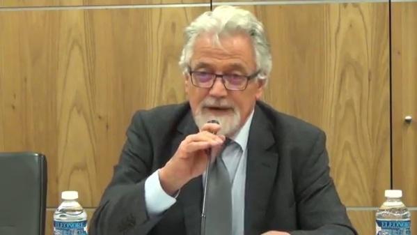 Son Excellence Michel Raimbaud, ancien Ambassadeur de France, auteur du livre