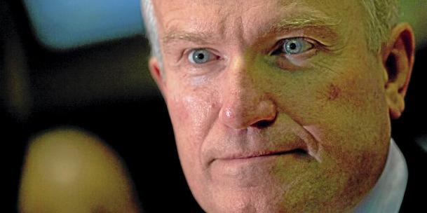 Iain Duncan Smith, ministre de l'emploi et des retraites a quitté avec fracas le gouvernement Cameron (Crédits : Bloomberg)
