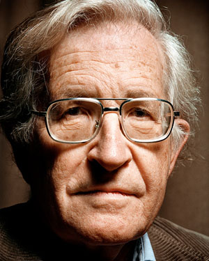 noam chomsky, london dec 2002 © chris saunders