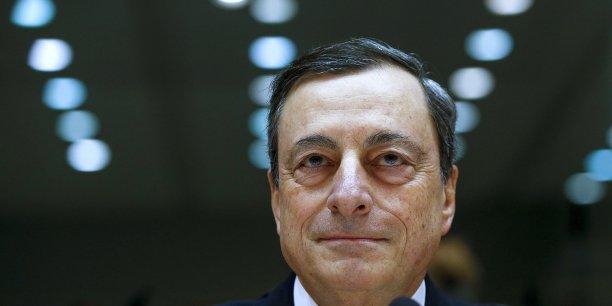 La BCE doit jeudi réussir à convaincre de sa capacité à redresser les anticipations d'inflation. (Crédits : Reuters)