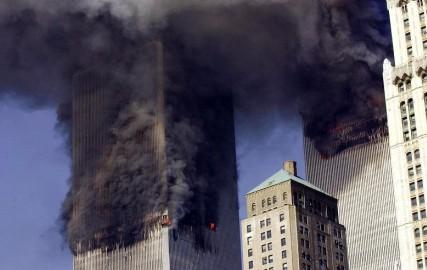 Le World Trade Center après les attaques du 11 septembre 2001 (AFP).