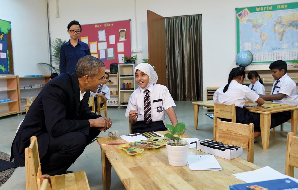 Obama Asia Malaysia