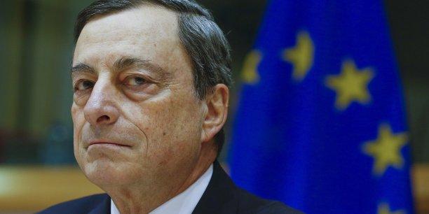 Mario Draghi doit faire face à de vives critiques venant d'Allemagne. (Crédits : Reuters)