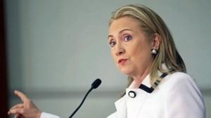 L'ancienne secrétaire d'État Hillary Clinton.