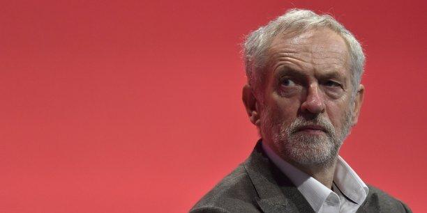 Jeremy Corbyn veut rester dans l'UE... pour la changer. (Crédits : TOBY MELVILLE)