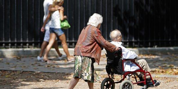 L'Allemagne vieillit et s'interroge : comment payer les retraites en 2030 ? (Crédits : REUTERS/Charles Platiau)