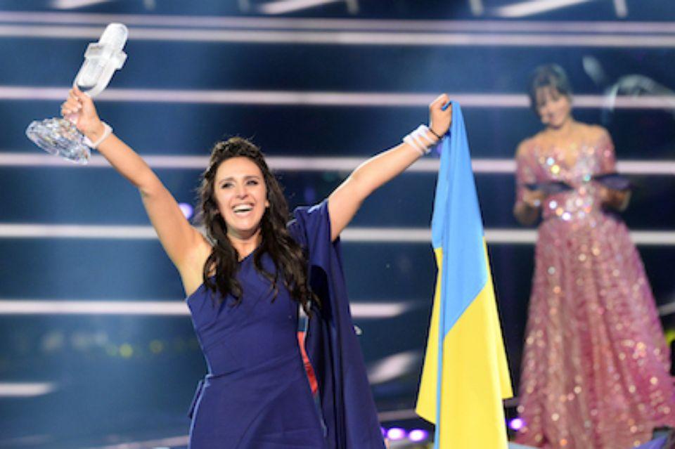 La chanteuse Jamala a remporté l'Eurovision 2016 pour l'Ukraine. Photo AFP