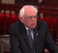 Le sénateur Bernie Sanders du Vermont cherche l'Investiture démocrate à la présidentielle.
