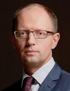 Le Premier ministre ukrainien Arseniy Yatsenyuk. (Photo credit: Ybilyk)