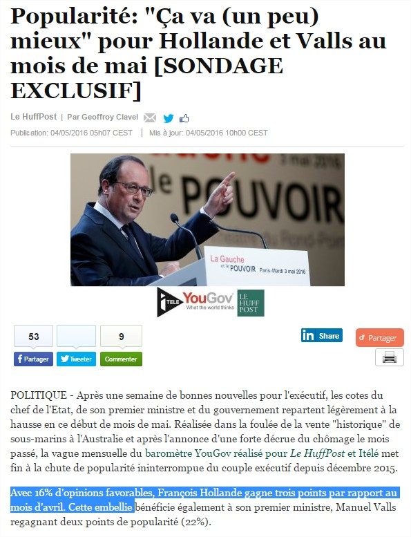 hollande-popularite