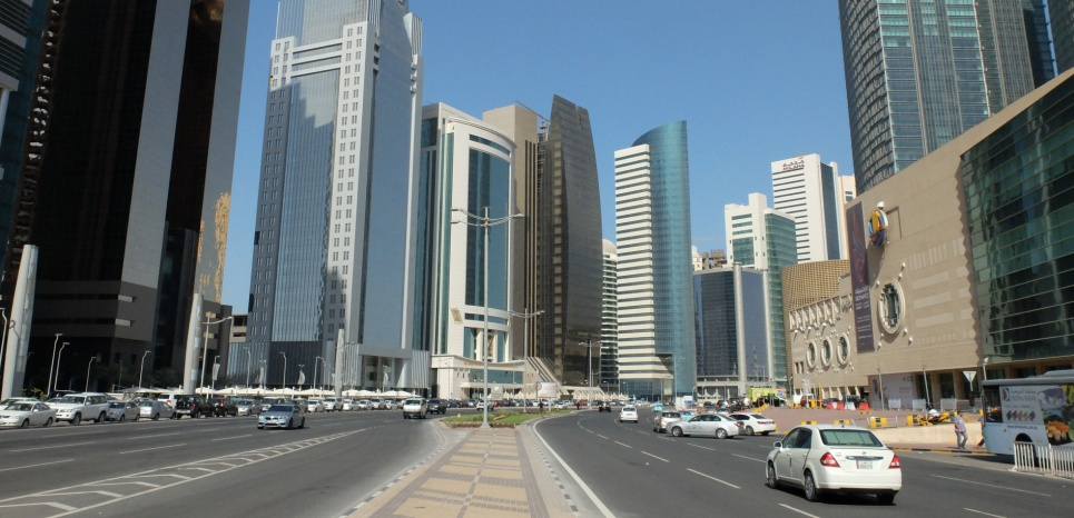 Le centre-ville de Doha (Qatar) - image d'illustration (WITT/SIPA)
