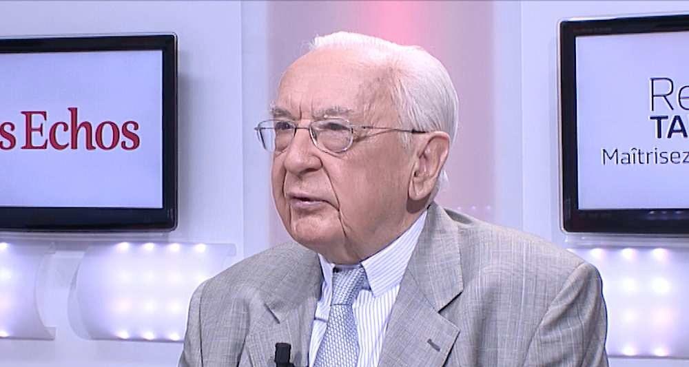 Jacques de Larosière a été notamment directeur général du Fonds monétaire international et gouverneur de la Banque de France. - DR