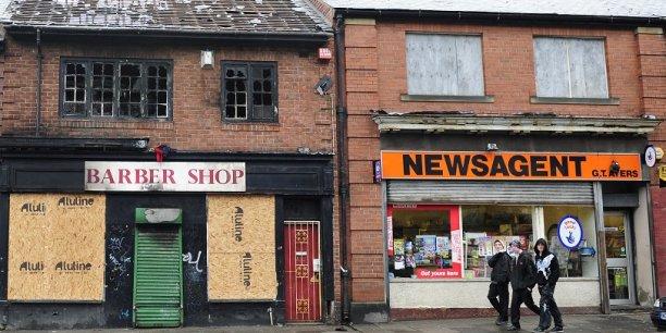 Une rue de Newcastle, dans le nord de l'Angleterre. C'est sans doute dans cette région que le Brexit va se jouer en grande partie. (Crédits : Reuters)