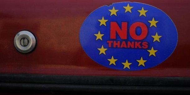 Le Brexit devrait ouvrir de nouvelles divisions au sein de l'UE... (Crédits : © Phil Noble / Reuters)