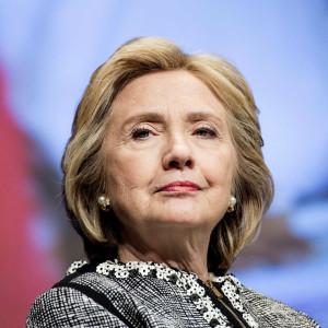 La candidate démocrate à la présidence, Hillary Clinton.