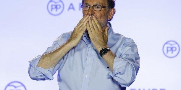 Mariano Rajoy n'a pas encore l'appui du parlement, mais il veut relever l'impôt sur les sociétés. (Crédits : REUTERS)