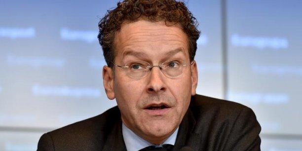 Le président de l'Eurogroupe, Jeroen Dijsselbloem, ne veut que la règle, rien que la règle. (Crédits : © Eric Vidal / Reuters)