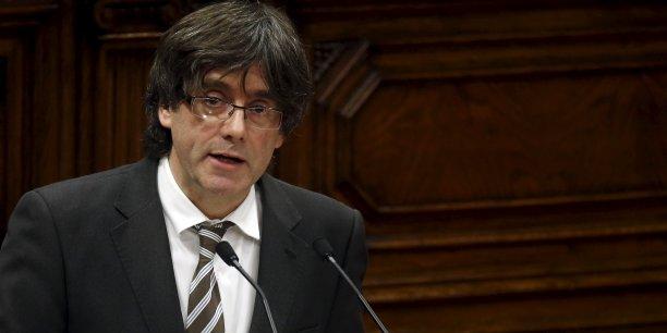 Carles Puidgemont, président du gouvernement catalan, choisira-t-il la voie de l'unilatéralité ? (Crédits : ALBERT GEA)