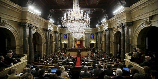 Le parlement catalan a accepté l'idée de