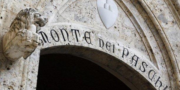 La banque Monte dei Paschi di Siena est considérée comme la plus fragile d'Italie.Elle est fragilisée par le Brexit. (Crédits : © Stefano Rellandini / Reuters)