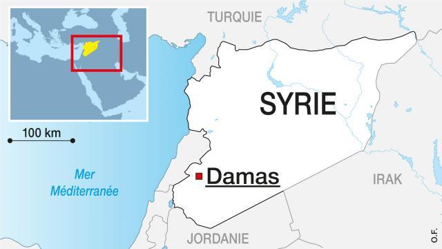 Suite à une vidéo montrant la décapitation d'un enfant, les rebelles syriens ont assuré mené une enquête interne. | Infographie Ouest France