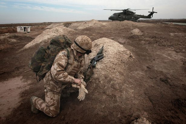Un soldat britannique en service en Irak | Matt Cardy/Getty Images