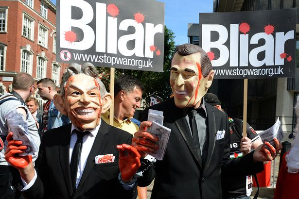 Blair-protest-at-Chilcot-publication-press-conference