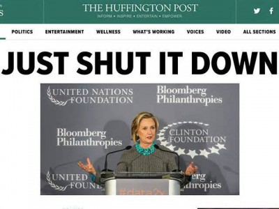 Photo: La Une du Huffington Post, le 21 août: