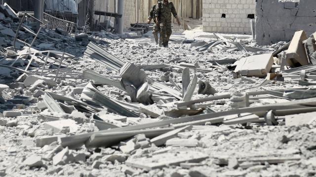 De fin mai au 31 juillet, 14 711 enfants ont été tués selon l'Observatoire syrien des droits de l'Homme (OSDH). | AFP